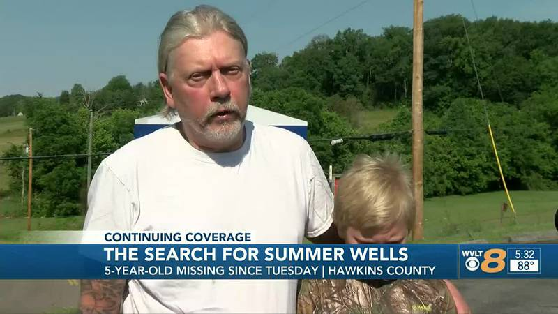 Don Wells believes Summer was kidnapped