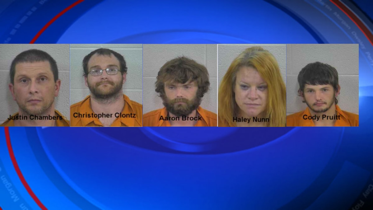 Six arrested in Laurel County
