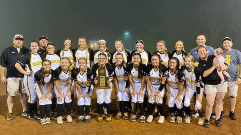 Johnson Central Softball wins 15th Region title