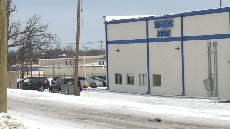 Strong Auto is located on New Circle Rd. in Lexington, KY,