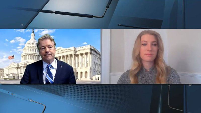 13 News reporter Kelly Dean speaks with Sen. Rand Paul (R-KY) in an exclusive one-on-one...