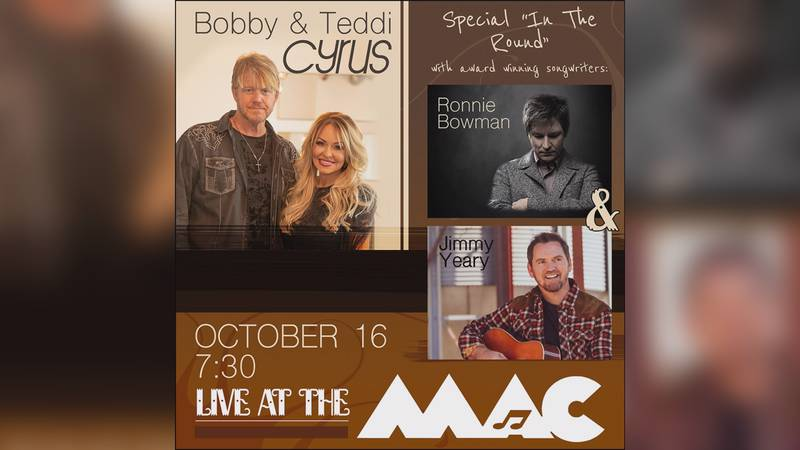 The show is on the MAC schedule for October 16.