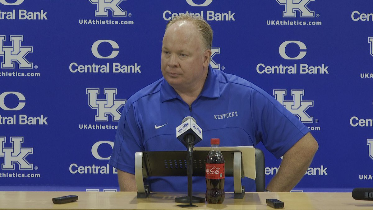 Coach Mark Stoops holds his pre-Chattanooga news conference on Sep. 13, 2021.