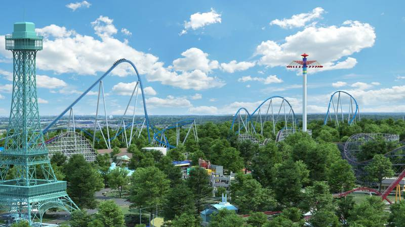 Masks will no longer be required while outside at Kings Island. The amusement park announced...