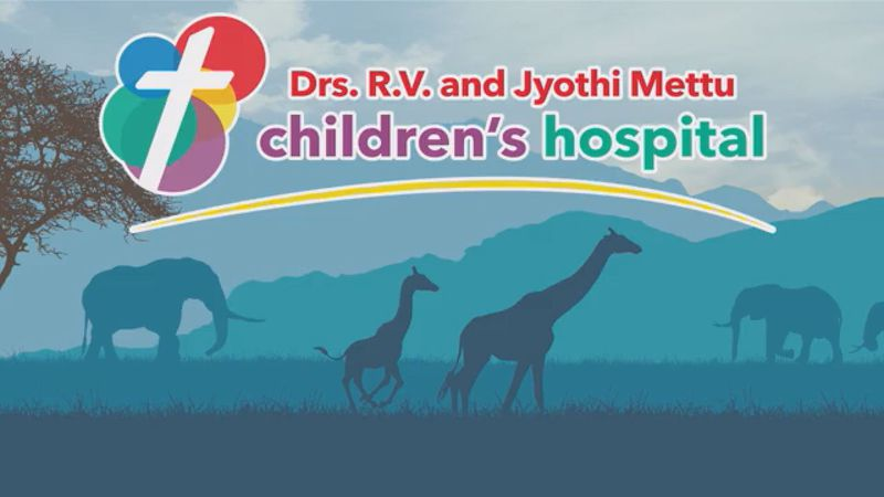The new PMC children's hospital will bear the names of Dr. R.V. Mettu and his wife, Dr. Jyothi...