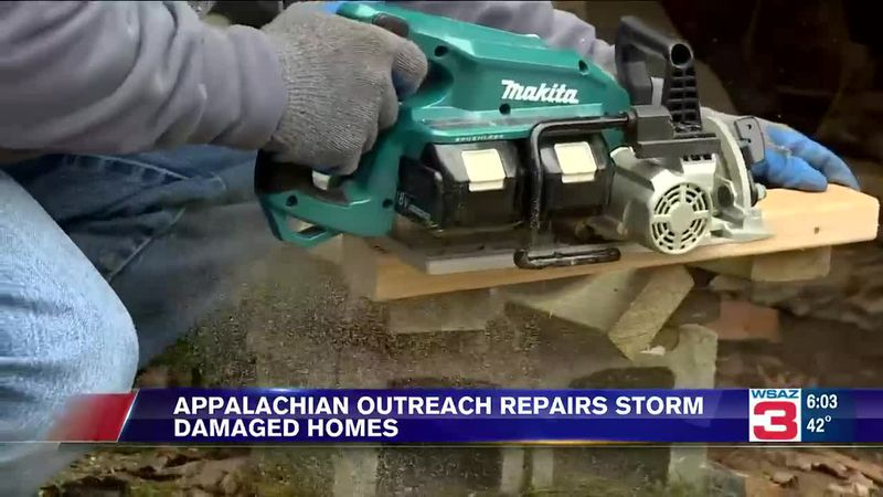 Appalachia Reach Out repairs storm-damaged homes.