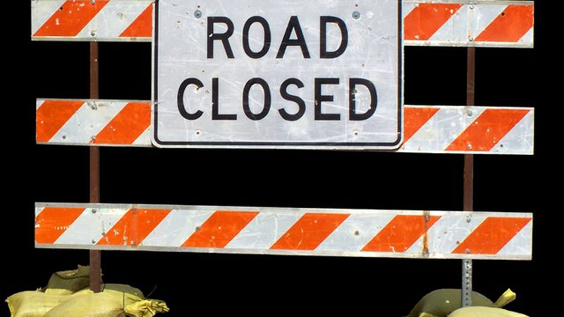 The Strickland Road in Fort Fairfield has been temporarily closed, due to a downed power line.