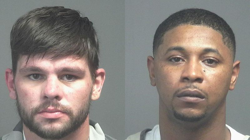 Jerry Cody Lawson and Jonathan De'Shawn Jones are in jail on multiple drug charges