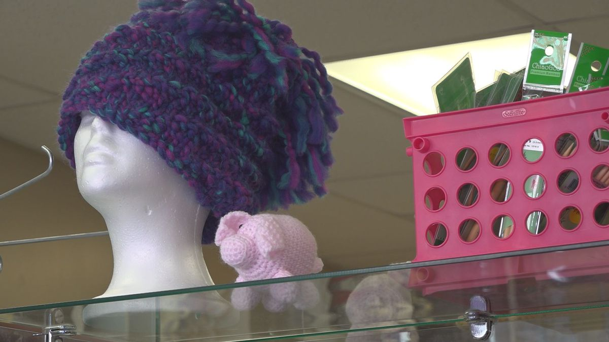 The Pink Pig Yarn Shop is teaming up with FaithLife Market to accept handmade winter...