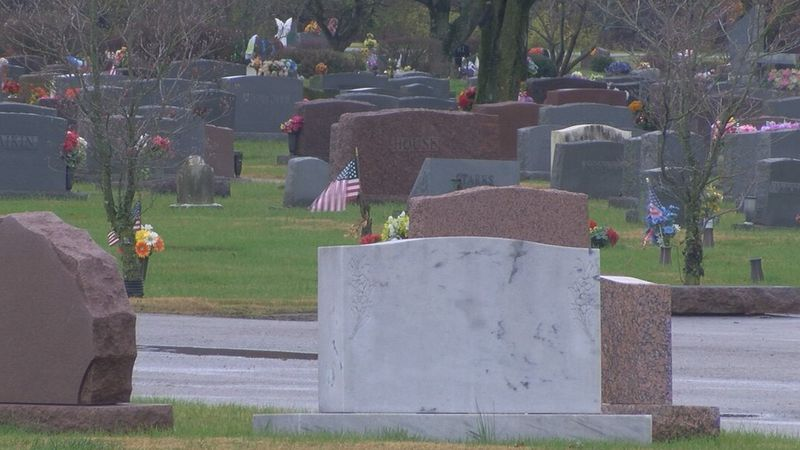 Bethany Cemetery is where the 77-year-old was attacked.