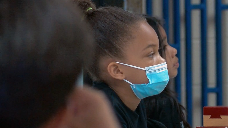 The updated CDC guidelines released Tuesday called for masks for indoor areas in parts of the...