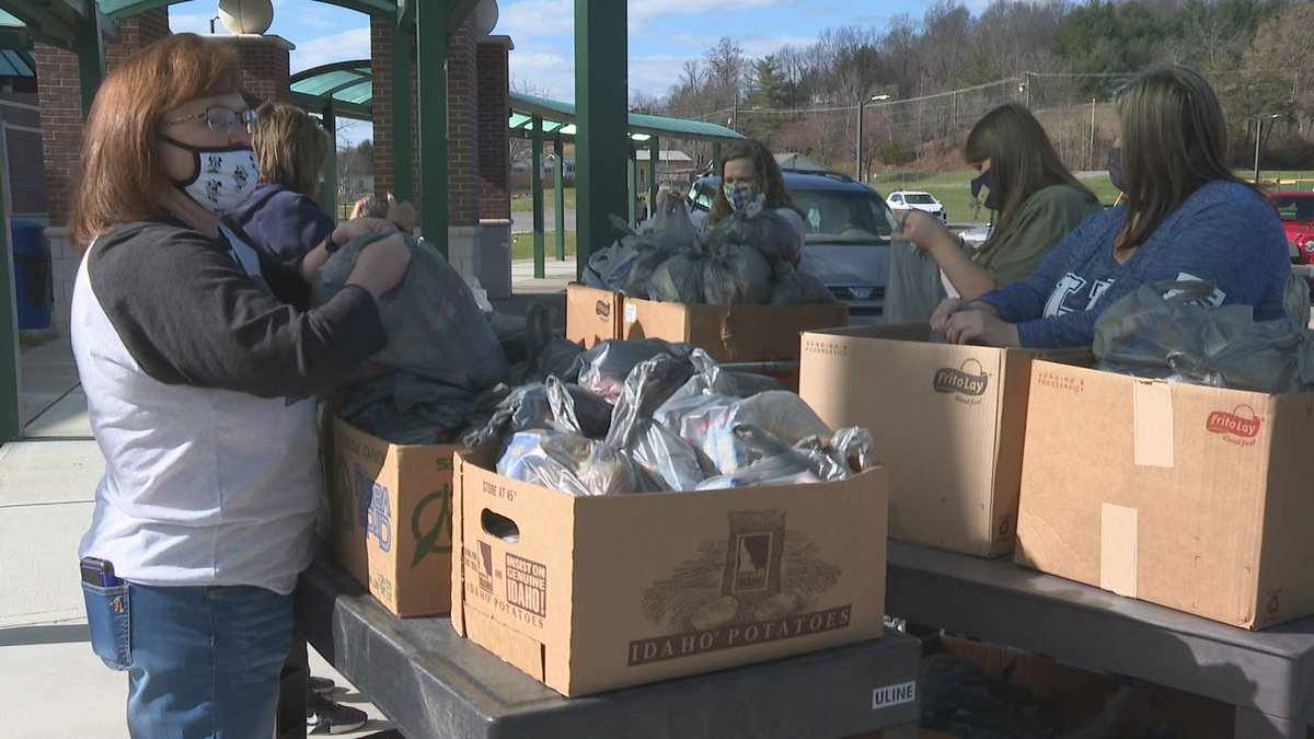 Teachers and staff in various schools across Eastern Kentucky continue to participate in food...