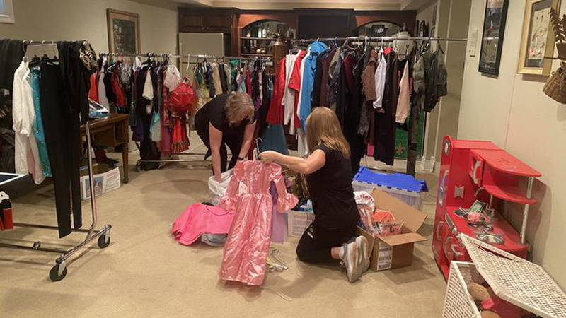 Two Lexington moms work every year to make sure every child has a Halloween costume.