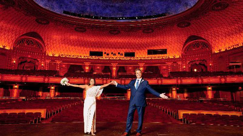You can now get married at the Tennessee Theatre