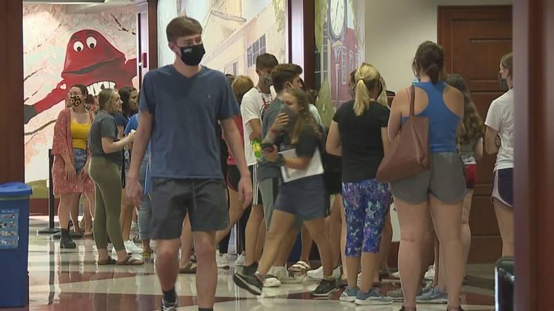 Western Kentucky University mask mandate.