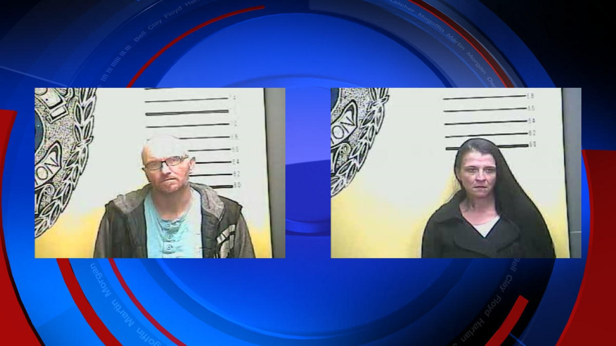 Jeffrey Stevens (left) and Opal Hubbard (right) were both charged by the Bell County Sheriff's...