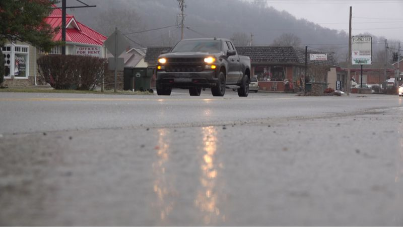 Roads in Prestonsburg expected to become worse Monday night.