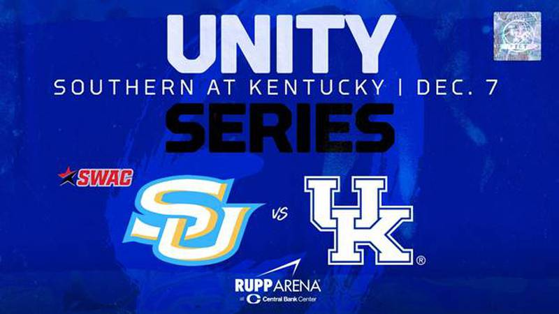 UK will host Southern on Dec. 7 in the inaugural Unity Series.
