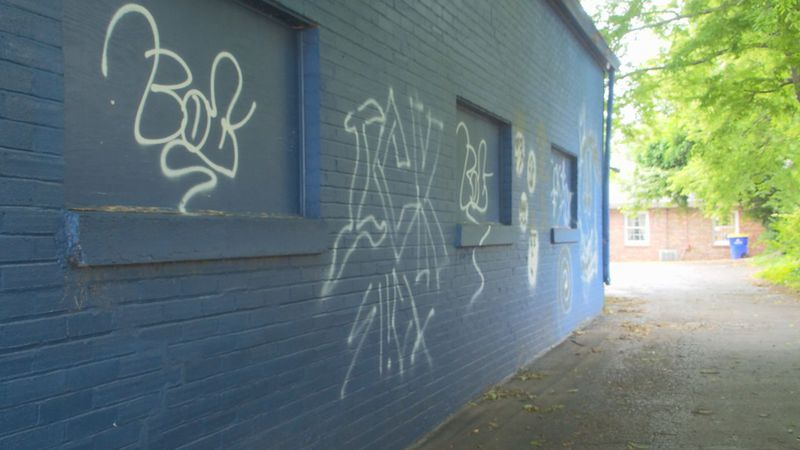 Graffiti in downtown Bowling Green hits three businesses.