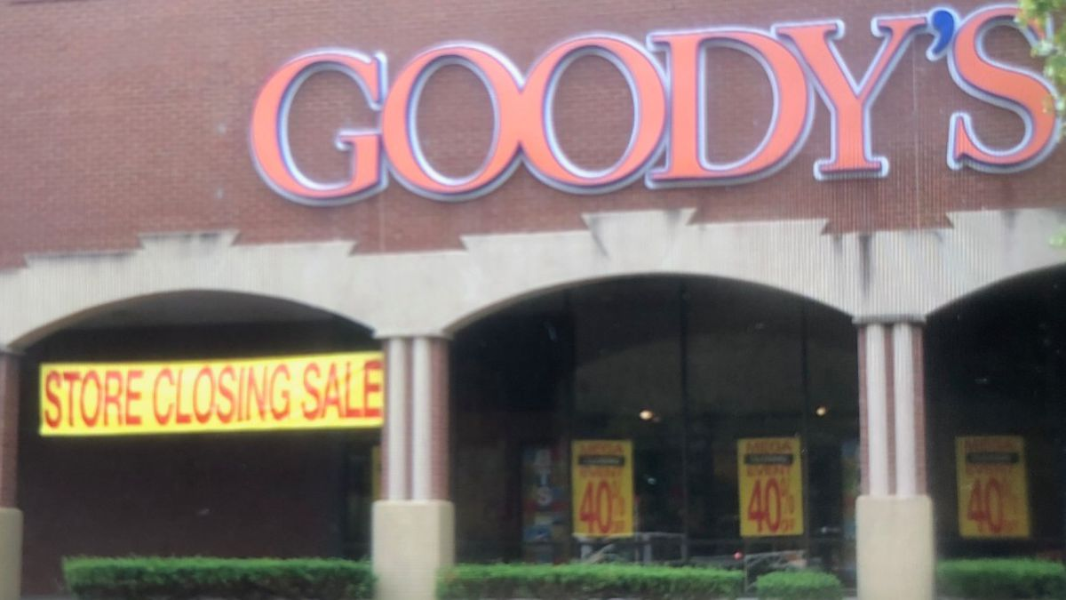 Several Goody's in Eastern Kentucky are closing.