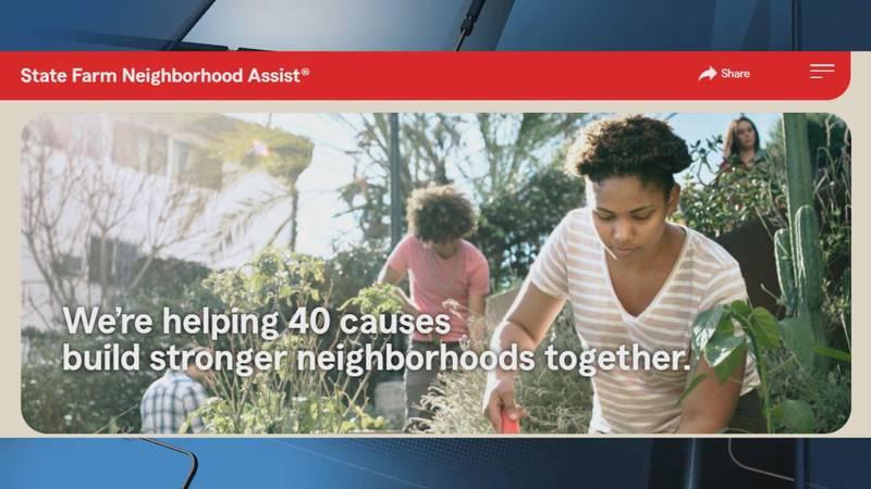 State Farm Neighborhood Assist program.