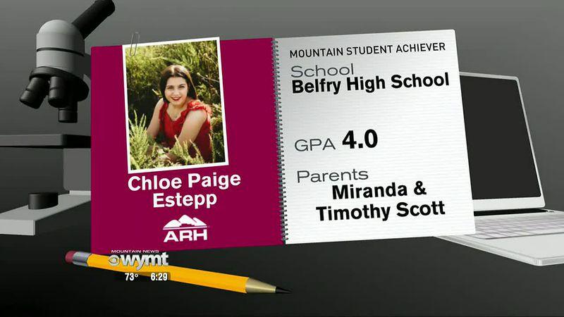ARH Mountain Student Achiever Chloe Paige Estepp - May 31, 2021