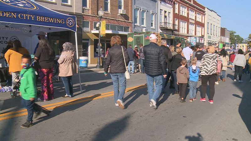 Somerset city officials hosted the 2020 Moonlight Festival Saturday.