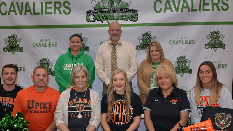 Savannah Wright signs with UPIKE Cheer