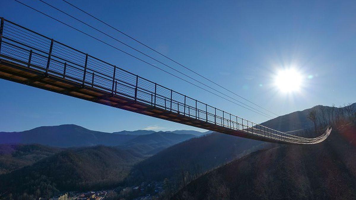 Longest pedestrian suspension bridge to open in Gatlinburg/ Source: Gatlinburg Sky Lift
