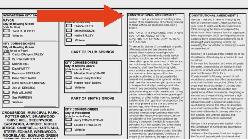 Marsy's Law on the ballot