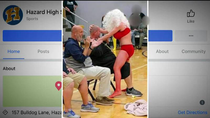 Several parents have said they are upset about inappropriate actions at an assembly at Hazard...