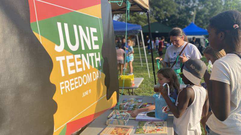 The Jessamine County community gathered at Clinton Hayden Park Friday for its inaugural...