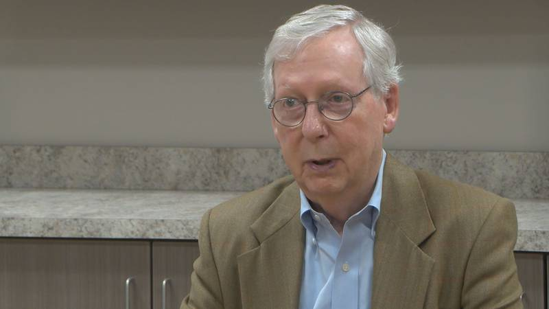 Sen. Mitch McConnell speaks on situation in Afghanistan.