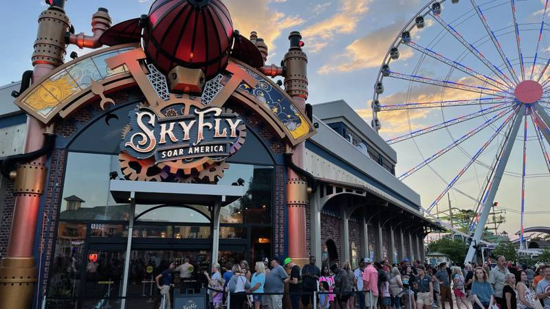 The Island in Pigeon Forge has opened a brand new $20 million attraction that will take people...