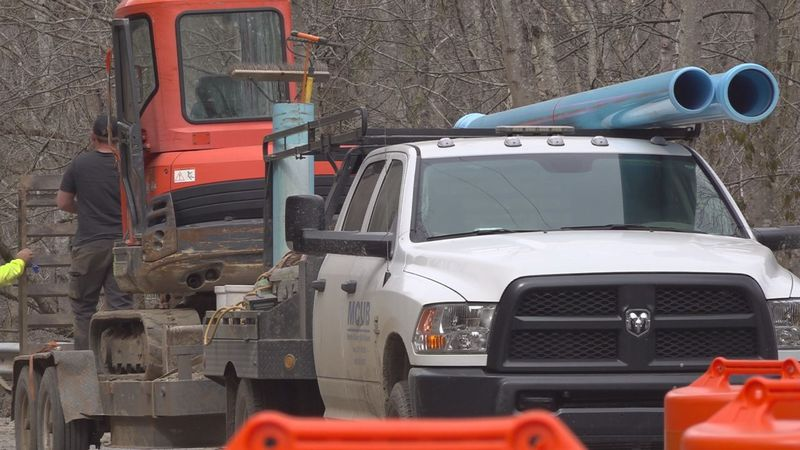 100 customers still waiting on water to be restored
