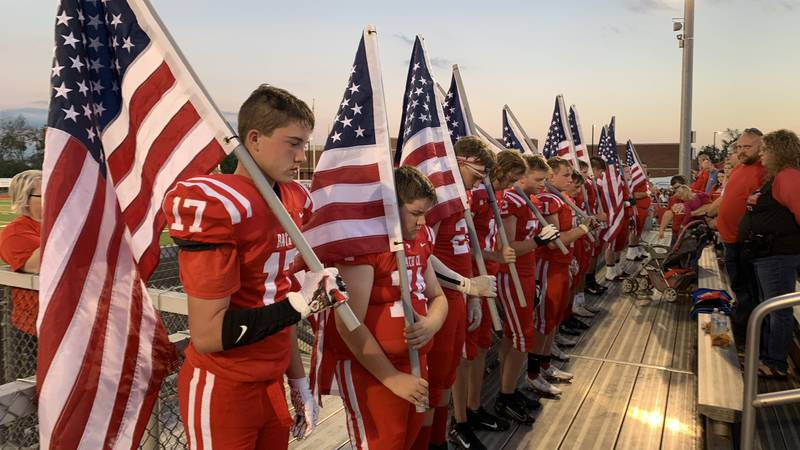 Before kicking off Friday night, the Bath County football team and community came together for...