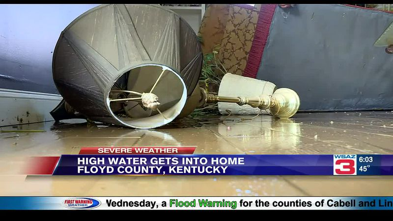 Homeowner Judi Casalino experiences her fifth flood.