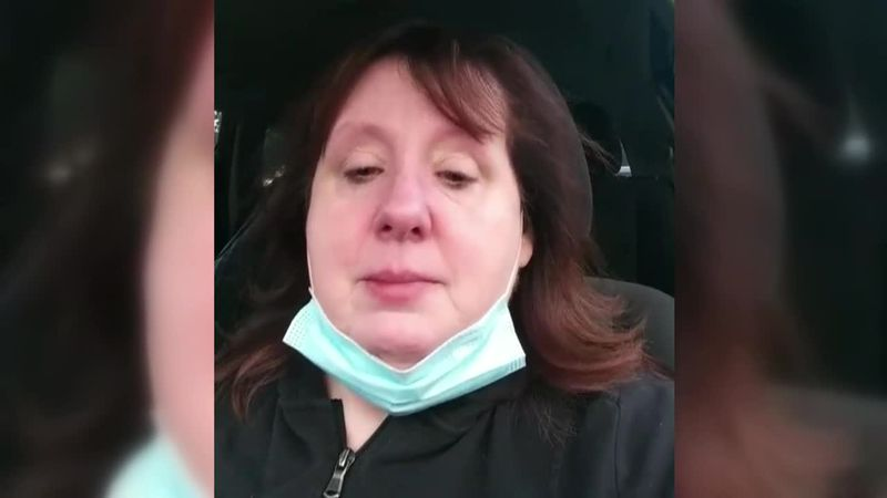 Mother's Facebook video of daughter's COVID fight goes viral