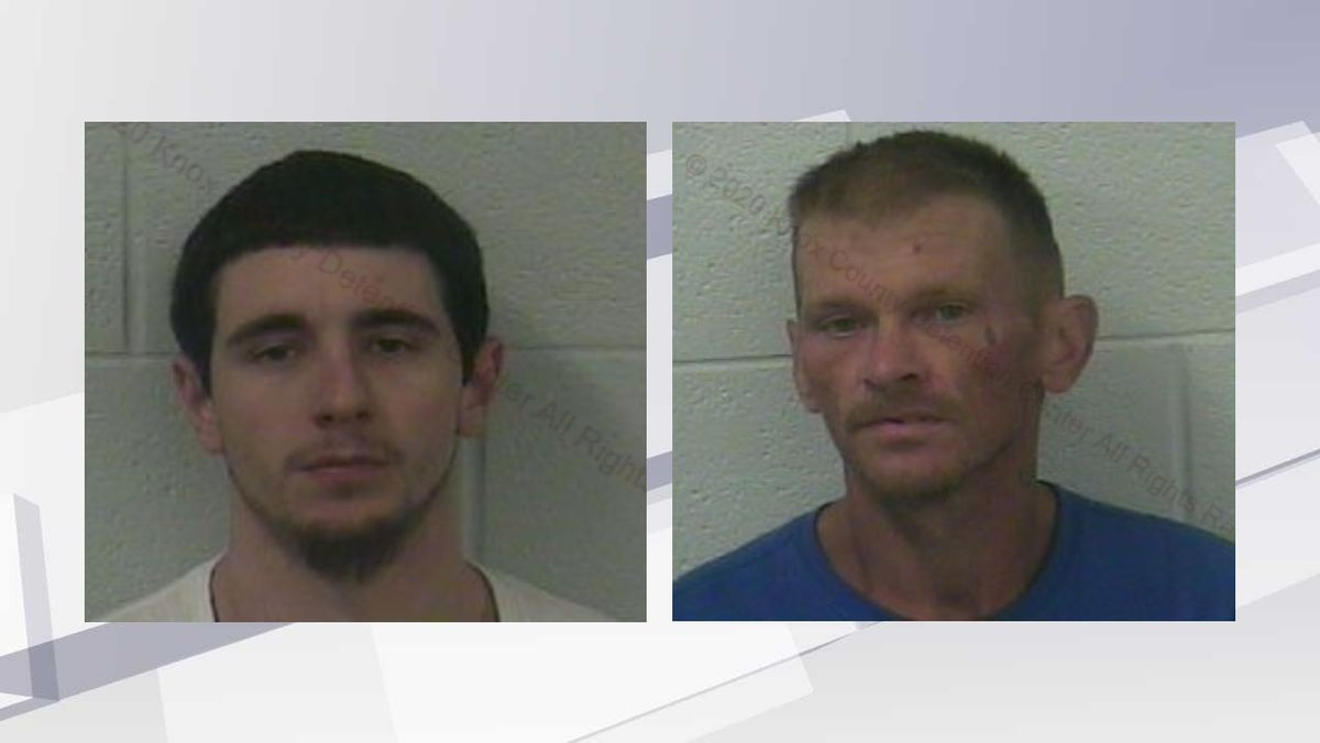 Cody Abner (l,) and Chester Witt (r,) escaped from the Knox County Detention Center in late June.