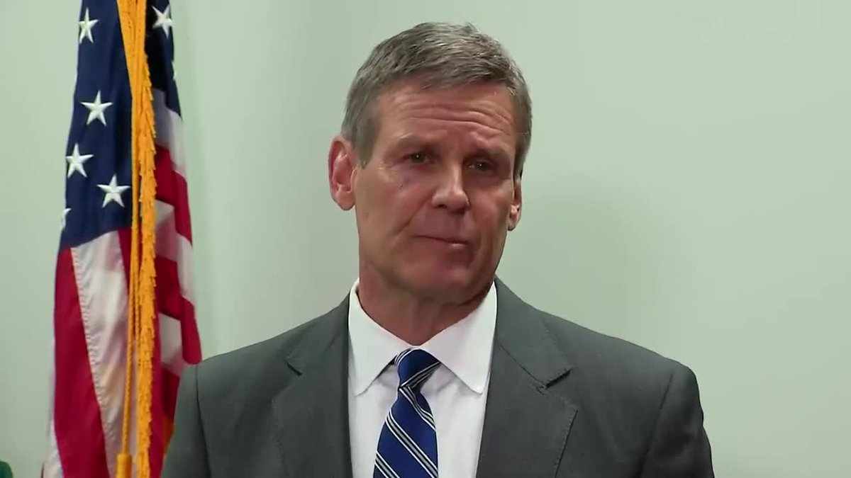Gov. Bill Lee announced first confirmed case of coronavirus in Tennessee