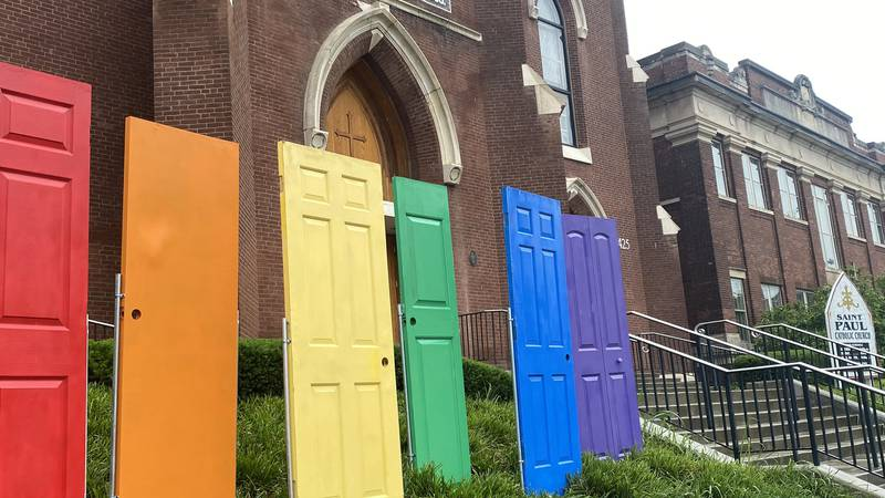 Saint Paul Catholic Church in Lexington is supporting the LGBTQ community this Pride Month. For...