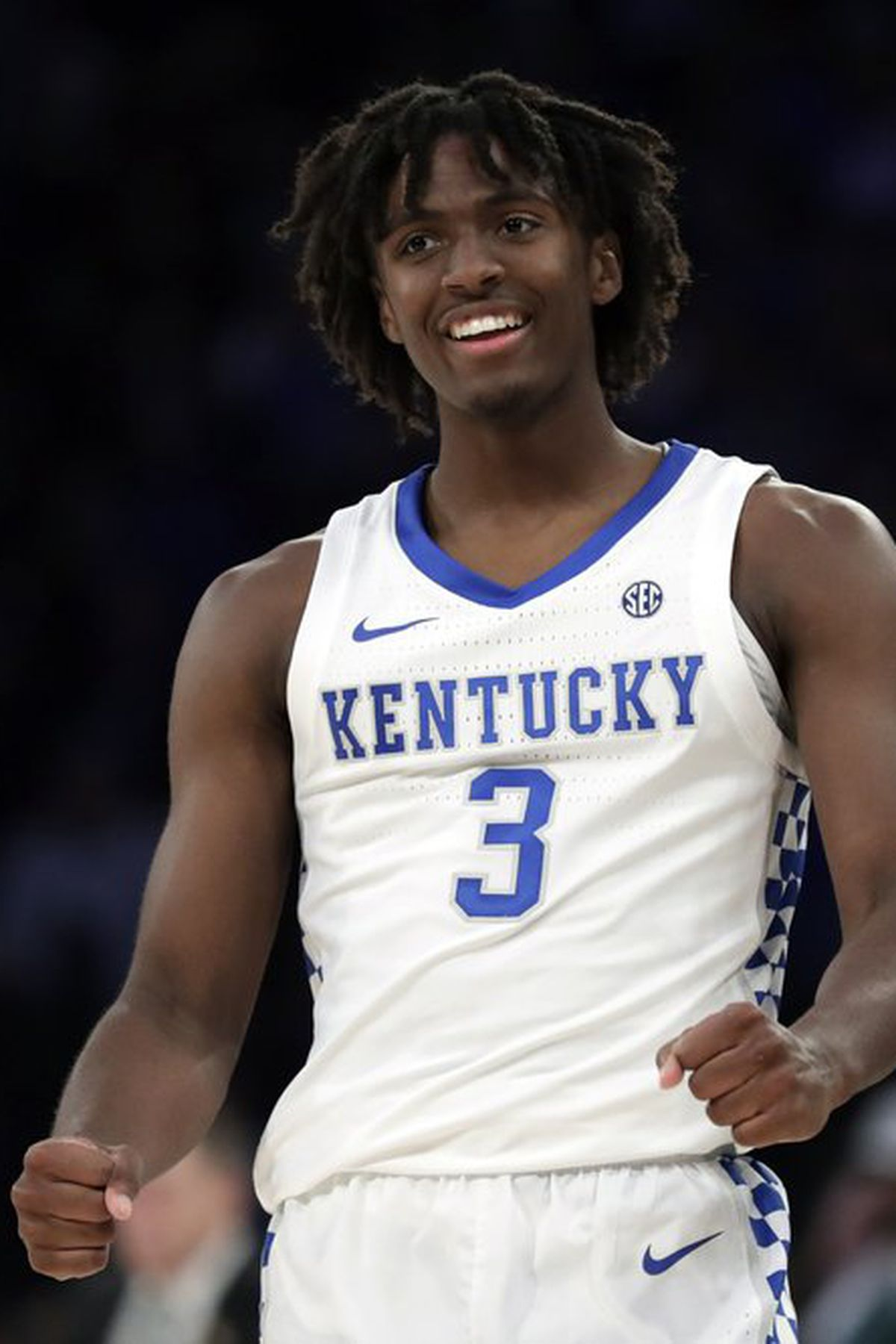 Tyrese Maxey Scores 26 Kentucky Downs Michigan State In Champions Classic