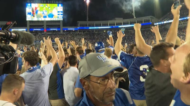 SEC has fined UK $250,000 for storming the field.