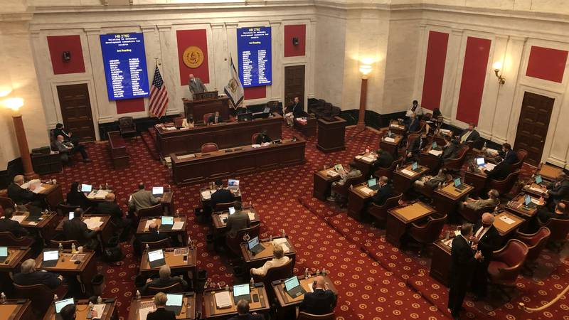 The West Virginia Senate convenes to discuss their version of HB 3300 Tuesday morning.