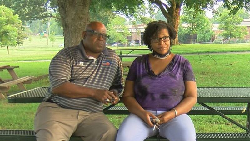 Kenneth Walker Jr., and Velicia Walker say their son is struggling with severe PTSD since the...