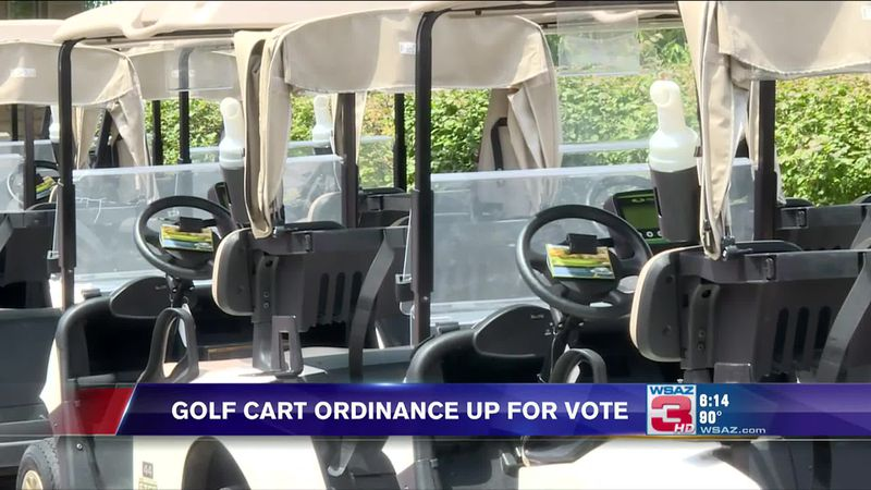 A new ordinance is up for vote in the City of Prestonsburg which would allow golf carts to be...