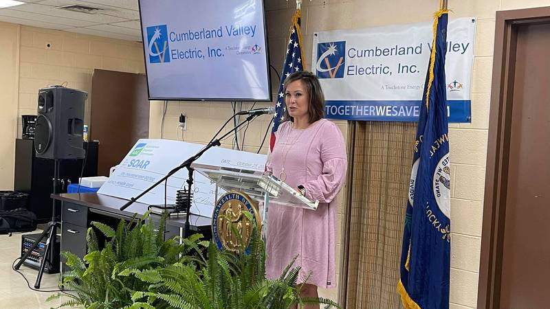 Lt. Governor Jacqueline Coleman visited Knox County on Monday to announce funding for a...