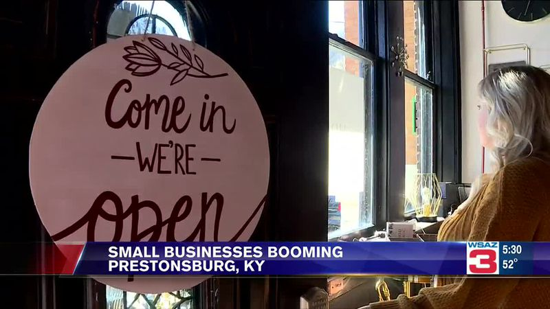 The city of Prestonsburg, Kentucky, is seeing a small business boom, welcoming three new...
