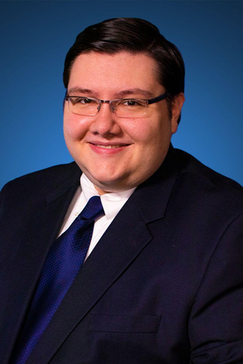 Headshot of Evan Hatter, Meteorologist, WYMT