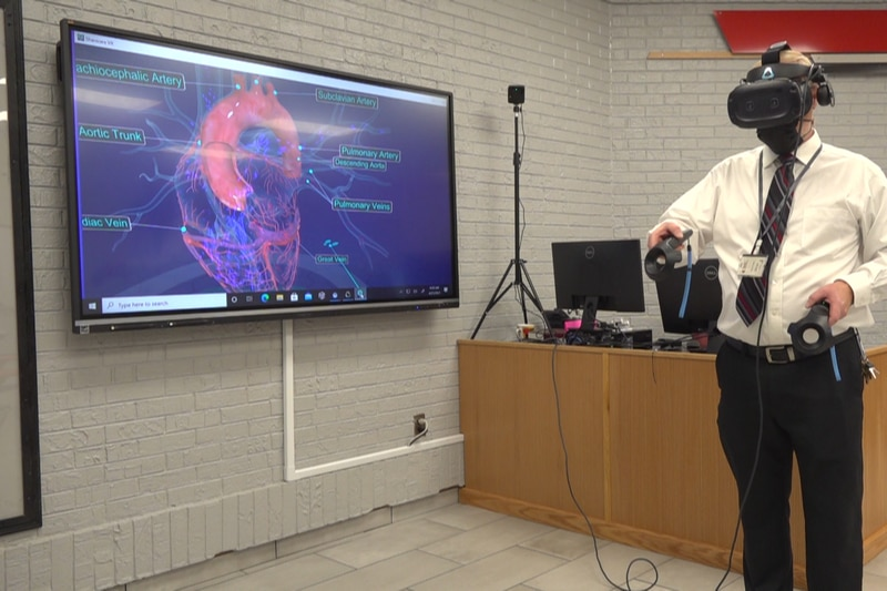 New virtual learning lab at middle school